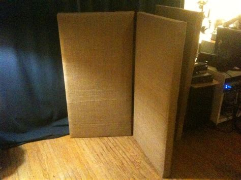 sound dening curtains diy week 12 diy studio sound absorption panels weekly creations