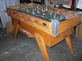 vintage french foosball table bussoz bistro baby foot