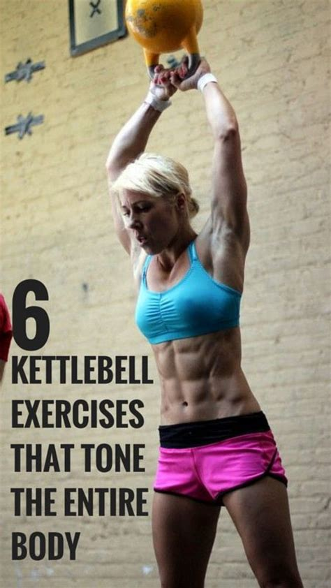 kettlebell workout body exercises fitness slim total kettlebells routine physique pull workouts push training muscles tone