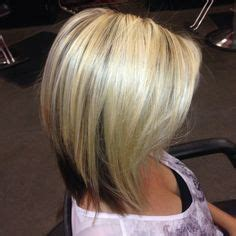 On Top And Underneath Hairstyles by On Top Underneath Hairstyles Angled Bob