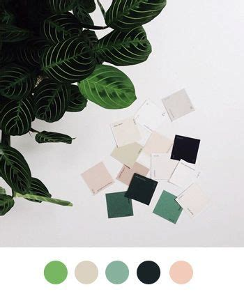 Palette Fresh Emerald Green bright and fresh color palette filled with greens