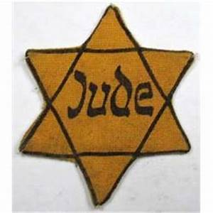 WW2 GERMAN HOLOCAUST STAR OF DAVID