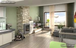 Free Home Interior Desktop Wallpaper 3 Designs ...