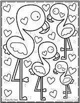 Coloring Pond Club Valentine Printable Teich Colouring Dem Aus Sheets Dibujos Mandala Spring Flamingo Books Library Malvorlagen Ausmalbilder Animal Desenhos sketch template