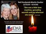 RIP Nell Husbands Martin Coulter | The death of Mother ...
