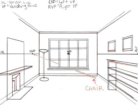 Drawing A Bedroom In One Point Perspective by Easy 3 Point Perspective Drawing Bedroom Inspired One Pdf