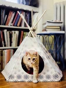 Tipi Pour Chat : les 25 meilleures id es de la cat gorie cabane chat sur pinterest lit cabane but cabane ~ Teatrodelosmanantiales.com Idées de Décoration
