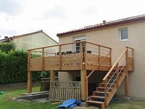 10 meilleures idees a propos de terrasse suspendue sur With terrasse metallique en kit
