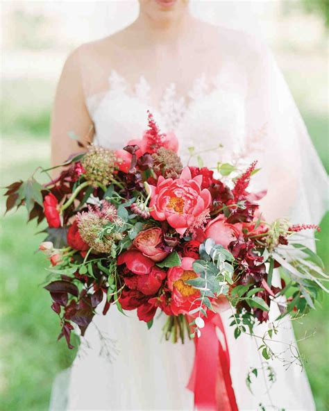pretty peony wedding bouquets martha stewart weddings