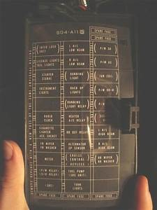 Honda Civic Si Fuse Diagram