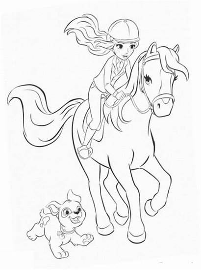 Horse Coloring Pages Printable Running