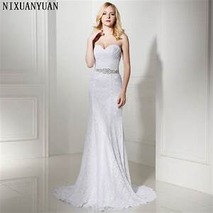 Pleat Bridal Wedding Gown Real Photos White Lace Cheap