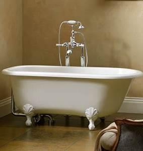 Baignoire Avec Pied : baignoire style edwardien wss avec pieds blanc nivault ~ Edinachiropracticcenter.com Idées de Décoration