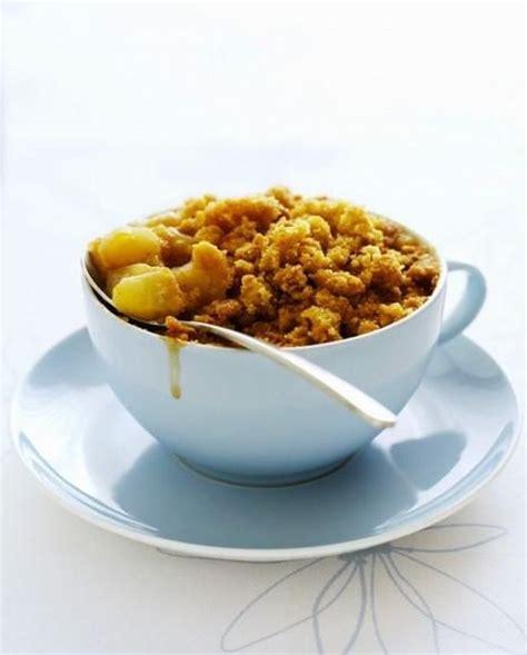 recette de crumble salé crumble aux poires et aux sp 233 culoos pour 6 personnes
