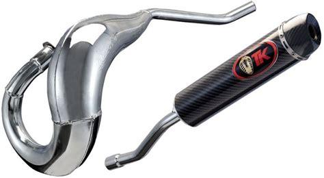 pot turbokit cross new quality chrom 233 50cc derbi aprilia pi 232 ces echappement sur la b 233 canerie