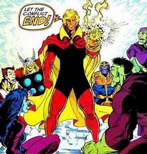 Adam Warlock Vs Thanos - Battles - Comic Vine