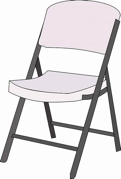 Chair Clipart Clip Cliparts Catering Cartoon Clker