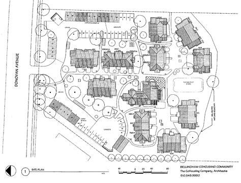 plan bellingham cohousing property house plans