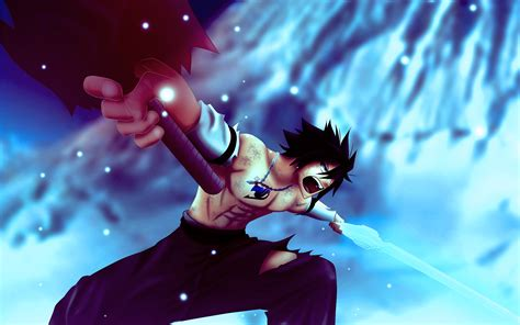 fairy tail gray fullbuster wallpapers wallpaper cave