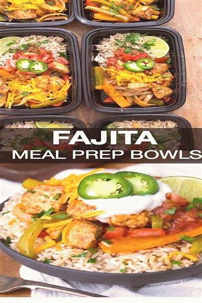 Prep Meal Fajita Healthy Bowls Recipes Ahead