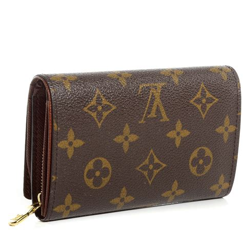 louis vuitton monogram porte monnaie billets tresor wallet 81656