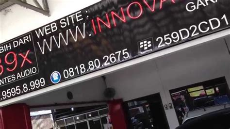 audio mobil alphard velfire innovation car audio jakarta youtube