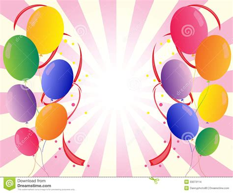 party balloons   colors stock images image
