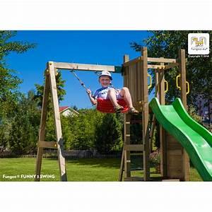 Portique De Jeux : tour de jeux et portique funny 3 avec bac sable et ~ Melissatoandfro.com Idées de Décoration