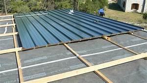 Rehausse Velux Toit Faible Pente : bac acier toiture toiture couverture j cherence ~ Nature-et-papiers.com Idées de Décoration