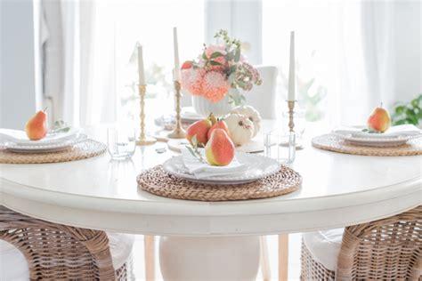 Herbst Tischdeko Im Natur-look