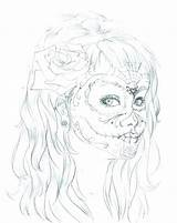 Makeup Coloring Pages Printable Getcolorings sketch template