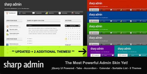 Admin Site Template Black by Sharp Admin Template By Jeffeatworld Themeforest