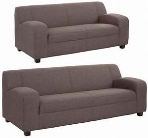 Sofa 2 Und 3 Sitzer : home affaire 2 sitzer 3 sitzer im set fun klassische polster wahlweise mit und ohne ~ Bigdaddyawards.com Haus und Dekorationen
