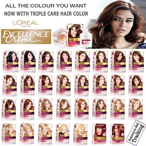 where to buy l shades l 39 oreal paris excellence creme triple care hair color