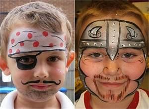 Maquillage Halloween Garçon : maquillage halloween 99 inspirations pour le visage ~ Melissatoandfro.com Idées de Décoration