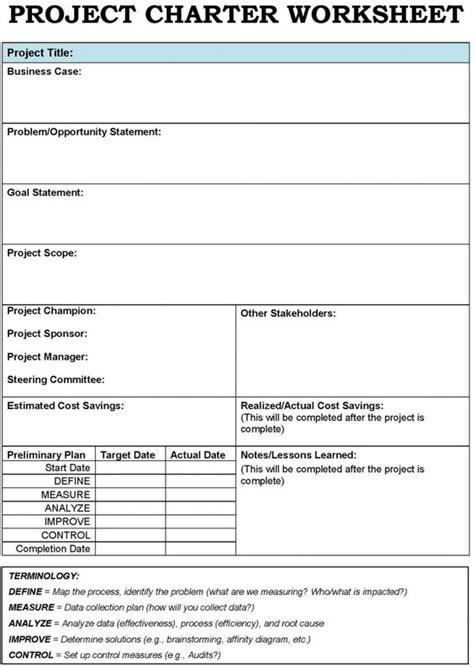 Project Charter Template  Project Charter Template Examples Of A Simple Project Charter