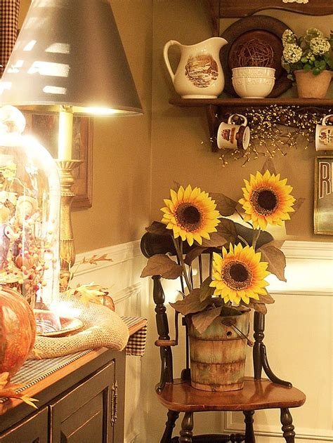 country sunflower kitchen decor 672 best home decor images on sunflowers 6234