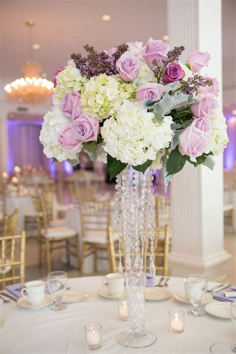 Lilac Decorations Wedding Tables - purple lilac and ivory clearwater wedding mmtb