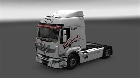 renault premium renault premium v2 4 truck euro truck simulator 2 mods