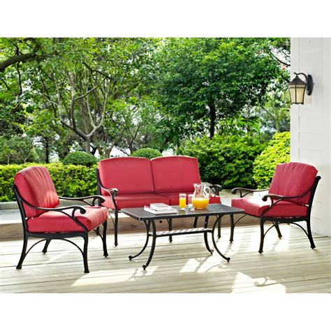 16 relaxing patio conversation set designs for