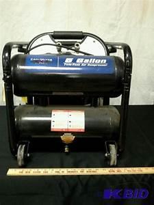 Eagle River 5 Gallon Air Compressor Product Manual  Erc4005