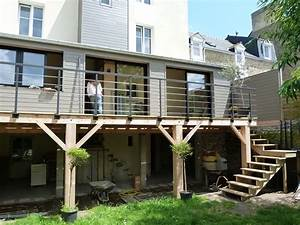 Maison Des Travaux : extension terrasse recherche google terrasse ~ Melissatoandfro.com Idées de Décoration