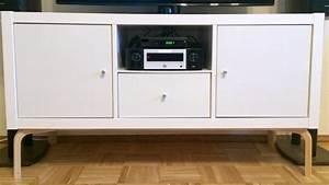 un meuble tv moderne avec les meubles kallax et frosta With meuble kallax