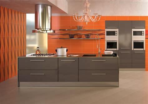 cuisine orange et gris cuisine gris et orange cuisine nous a fait à l