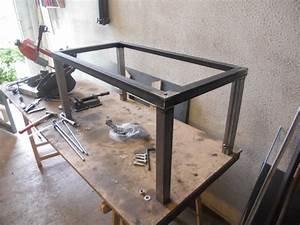 Fabriquer Un établi : tabli m tallique r glable en hauteur ~ Melissatoandfro.com Idées de Décoration
