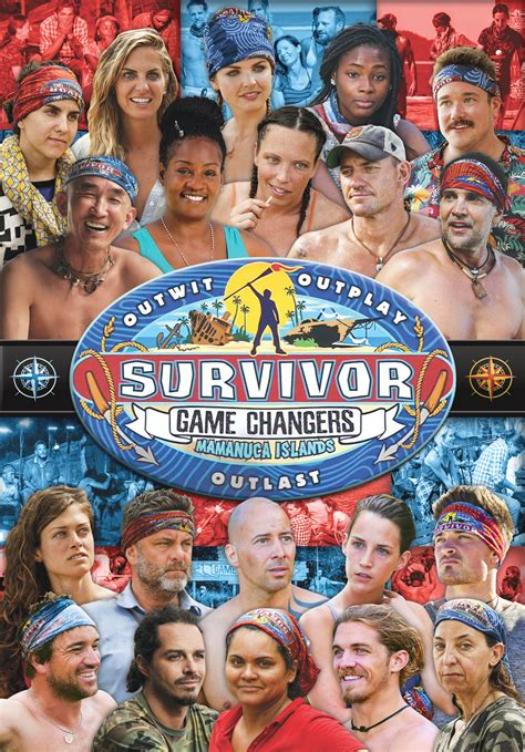 Game Changers DVD Cover (Fan-Made) : survivor