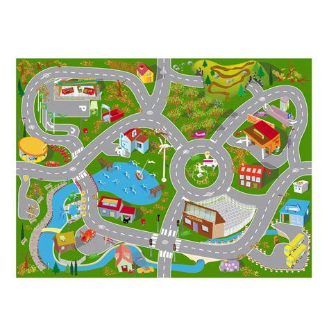 tapis de jeu route carrelage design 187 tapis route enfant moderne design pour carrelage de sol et rev 234 tement de tapis