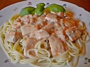 Rezept backofen: Rezept lachs spaghetti