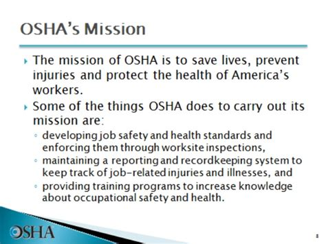 general industry introduction  osha safety