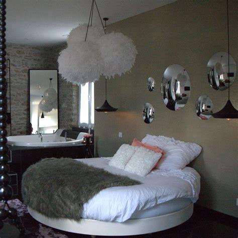 chambre a coucher avec lit rond decoration chambre avec lit rond